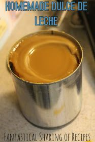 Homemade Dulce de Leche | One ingredient plus a pot of water and you have this delicious homemade caramel | www.fantasticalsharing.com