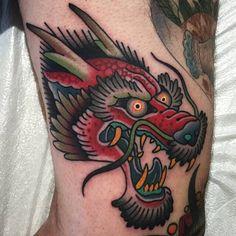 Shaun Topper Tattoo tattoo for men tattoos tattoo tattoo japones tattoo tattoo traditional Baby Tattoos, Head Tattoos, Tattoos For Guys, Sleeve Tattoos, Cool Tattoos, Tatto Old, 1 Tattoo, Tatoo Art, Dragon Head Tattoo