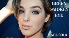 NEW! EASY Green Smokey Eye Fall 2016 || Æ Beauty ♡