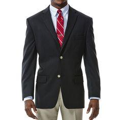 Men's Haggar Classic-Fit Solid Sport Coat, Size: 40 - regular, Black