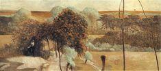 Triptychon: Follow the Stream (left panel) - Jacek Malczewski  1909-1910