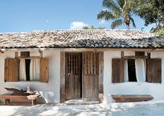 #a rustic beach house in bahia, brazil
