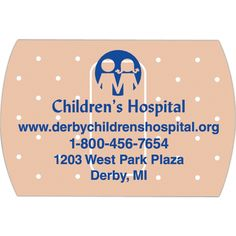 """2 x 3 Bandage Magnet #S112D Ideal promotional products for hospitals, clinics and daycare centers, these flexible, bandage shaped magnets are always-in-stock! Measuring 2"""" x 3"""" and approximately 0.020 mil thick they can be imprinted with your company name, logo and special message. A creative giveaway for the next healthcare event you attend or charity fundraiser that you sponsor!"""