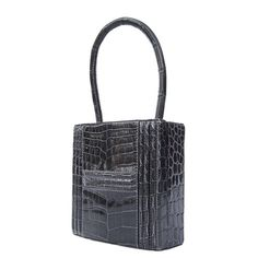 birkin replica  - Hermes Constance H Flap Bag Black Shiny Crocodile Gold HDW 23 cm ...