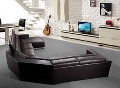 Stylish Design Furniture - Divani Casa  Tempo -  Leather Sectional Sofa, $3,202.50 (http://www.stylishdesignfurniture.com/products/divani-casa-tempo-leather-sectional-sofa.html)