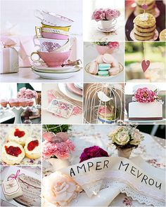 Inspiration for the perfect kitchen tea (bridal luncheon is Alice in Wonderland Theme)