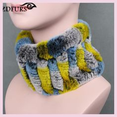 ZDFURS * Women real fur Handmade Stretch fur scarf Knit Genuine Rex Rabbit Fur Headbands Girls Natural Fur Ring Scarves Winter Rex Rabbit, Rabbit Fur, Fur Headband, Headbands, Piel Natural, Scarf Knit, Shawls And Wraps, Scarves, Fashion Accessories