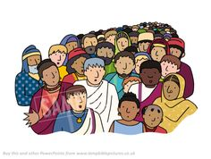 International crowd // Pentecost | Lamp Bible PicturesLamp Bible Pictures