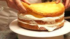 Рецепт бисквитного торта