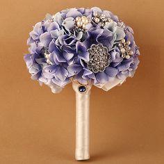 Luxury-Light-Purple-Hydrangea-Crystal-Rhinestone-Brooches-Bridal-Wedding-Bouquet