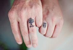 Wedding tattoos | The Nichols | blog.theknot.com