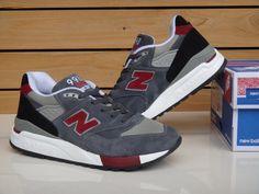 Genuina compras NB zapatillas para hombre 2013 primavera y otoño la nueva 998 zapatillas de deporte corrientes
