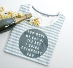 It's always time for champagne!