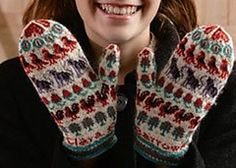 Ravelry: Clara Barrows's Mittens pattern by Mary Sherman Lycan