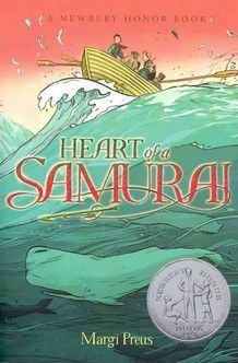 Heart of a Samurai, based on the true story of Manjiro Nakahama is NPR's Backseat Book Club pick for May.