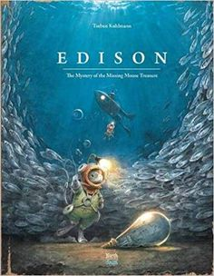 Edison: The Mystery of the Missing Mouse Treasure (Mouse Adventures) von bilder kinder kinderbuecher Abenteuer Fantasy Piraten Science Fiction Gebundene Ausgabe Taschenbuch Broschiert Hörbuch Kindle eBook Mal Pappbilder Pop-Up Sticker- Stoff Good New Books, My Books, Best Children Books, Childrens Books, Lecture Aura, Children's Book Awards, Illustrator, Charles Lindbergh, Unlikely Friends