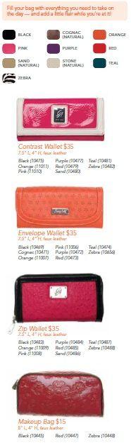 Wallets and Makeup Pouches!  http://edieanne.graceadele.us