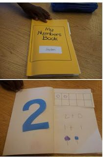 My Numbers Book Common Core Math for Kindergarten and Transitional Kindergarten