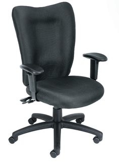 Boss Office Products B2007-SS-BK Boss Black Task Chair With 3 Paddle Mechanism W/ Seat Slider