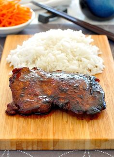 Only 4 ingredients, so easy and fast to make and the flavour infuses into the meat better than bottled sauce! GREAT for GRILLING! #grill #Japanese #marinate