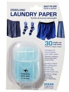 Travel Laundry Soap