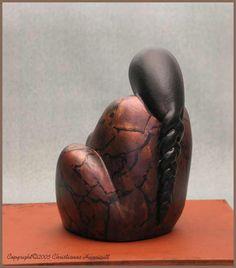 Custom ceramic sculpture.