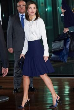 Queen Letizia attended the 7th Against Cancer Forum in Madrid/ Febr. 1, 2018