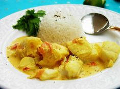 Tried many times, always great. Swap chilli powder for fresh green chili paste Healthy Dinner Recipes, Low Carb Recipes, Fish Curry, Cookery Books, Batch Cooking, Keto Diet For Beginners, Spices, Food And Drink, Nutrition