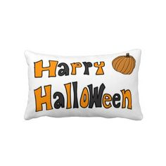 Rest your head on one of Zazzle's Happy decorative & custom throw pillows. Decorative Throw Pillows, Happy Halloween, Bed Pillows, Pillows, Accent Pillows, Decor Pillows