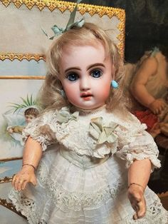 """~~~ Rare 9"""" Size 1 Mademoiselle Jumeau in Presentation with Lingerie : When Dreams Come True Doll-Shop 