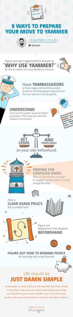 Prepare your move to #Yammer