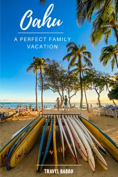 How to plan the perfect trip to Oahu, Hawaii, with or without kids! Here are our favorite hotels, restaurants and things to do. Waikiki Beach, Oahu Hawaii, Moana Surfrider, Waimea Valley, Waimea Bay, Parasailing, Exotic Places, Before I Die, Big Island