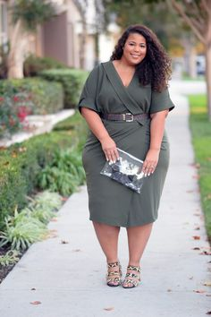 Plus Size Fashion - GarnerStyle | The Curvy Girl Guide: Wrap It Up