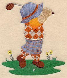 Golfing Fisherman Fred