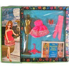 MIP Dawn Fashion Twinkle Twirl #8114 Vintage 1970 Topper Toys