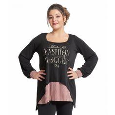 Μπλούζα Made for Fashion Plus Size Blouses, Sweatshirts, Sweaters, Fashion, Moda, Fashion Styles, Trainers, Sweater, Sweatshirt