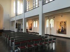 Ausstellung Strawalde, Matthäi-Kirche Berlin. Es ist eine kleine Ausstellung die man sich durchaus angucken kann. Der Eintritt ist frei.