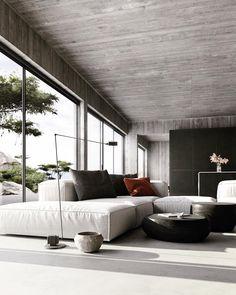 24 Minimalist Home Interior Design Interior Design Examples, Contemporary Interior Design, Interior Design Inspiration, Interior Design Living Room, Living Room Designs, Interior Livingroom, Design Room, Room Interior, Interior Ideas