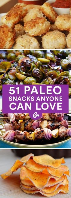 39 Paleo Snacks That Make the Eating Plan Look Easy (No, Really!) Paleo eaters may shun grains, processed vegetable oils, and refined sugars, but that doesn't stop them from enjoying plenty of delicious dishes /. Paleo Diet Snacks, Healthy Recipes, Lunch Snacks, Whole Food Recipes, Diet Recipes, Healthy Snacks, Healthy Eating, Cooking Recipes, Diet Tips