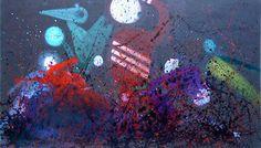 "Saatchi Art Artist Min Zou; Painting, ""the magical world --SOLD"" #art"