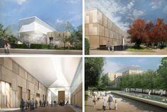 Philadelphia Architecture Travel Guide - Barnes Foundation Museum Renderings