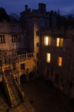 Haunted Castle Hotel - Chillingham Castle in England.