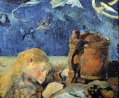 Paul Gauguin - Enfant endormi - 1884