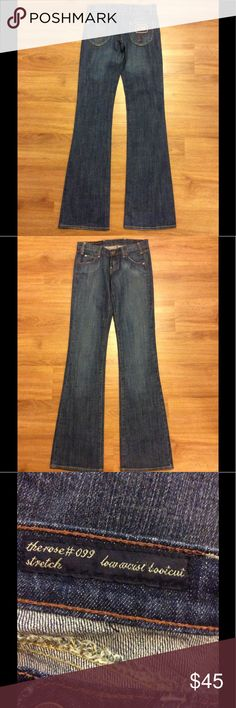 CITIZENS OF HUMANITY BOOTCUT JEANS EUC citizens of humanity bootcut jeans. Size 25 inseam 33 inches. Citizens Of Humanity Jeans Boot Cut