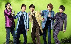 Arashi with Kirin Tanrei Beer, The Japanese Ad.