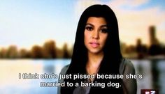 When she sassed the hell out of Kris Humphries. | 32 Times Kourtney Kardashian Just Did Not Give A Damn
