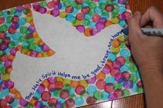 Holy Spirit Craft for Preschoolers Awesome the Holy Ghost at Halloween – Crafting with Mommy - Blue History Moses Bible Crafts, Bible Crafts For Kids, Preschool Crafts, Holy Spirit Lesson, Holy Spirit Come, Ghost Crafts, Bird Template, Children's Church Crafts, Spirited Art
