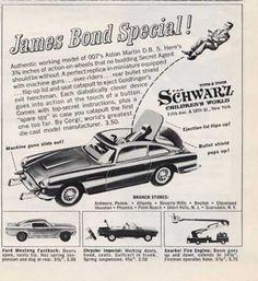 Schwarz Children's World James Bond Aston Martin (1965)