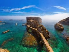 Portugal Day Trips Tips Berlenga Islands - Portugal/Lisbon - Travel Road Trip Portugal, Portugal Vacation, Portugal Travel, Places Around The World, Oh The Places You'll Go, Places To Travel, Travel Destinations, Places To Visit, Day Trips From Lisbon