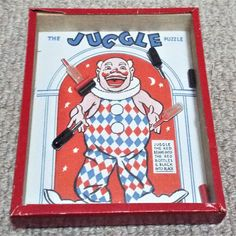 The Juggle Vintage Dexterity Puzzle Game R. Puzzle Games, Game R, Patience, Puzzles, Handmade, Stuff To Buy, Vintage, Gaming, Puzzle